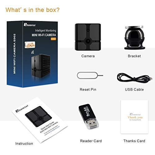 Mini Wifi Hidden Spy Camera Wireless Hd 1080p Night Vision