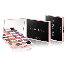 Load image into Gallery viewer, GOLD N'ROSES EYESHADOW PALETTE