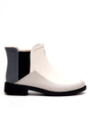 Premium Bi-Color Chelsea Wellington Boots