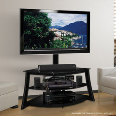 "Modern TV Stand for up to 52"" - Integrated TV Mount"