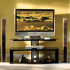 "Premium TV Stand for up to 50"" TVs - High Gloss Finish"