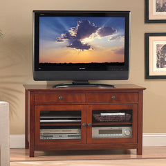 "TV Stand for up to 46"" TVs - Cherry Finish"