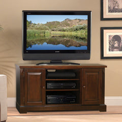 "TV Stand for up to 56"" TVs - Espresso Wood Finish"