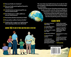A Family Business on the Moon back cover