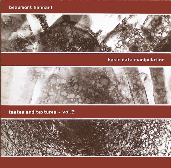 Basic Data Manipulation (Tastes And Textures Vol.2)