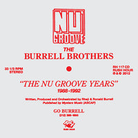 The Burrell Brothers - The Nu Groove Years 1988-1992
