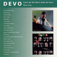 Q: Are We Not Men? We Are Devo + Devo Live