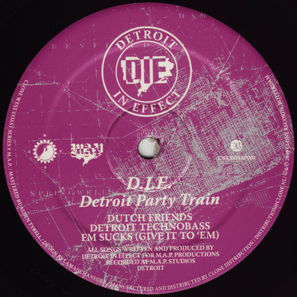 Detroit Party Train (Preorder)