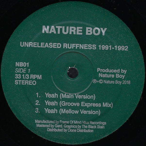 Unreleased Ruffness 1991-1992