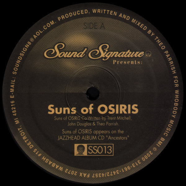 Suns Of Osiris / Violet Green