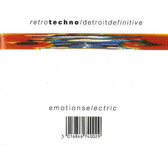 Retro Techno / Detroit Definitive - Emotions Electric