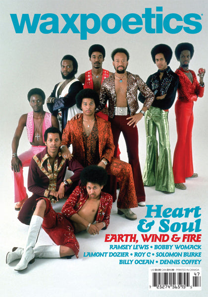 Wax Poetics #47  May / June 2011 (Earth, Wind & Fire / Ramsey Lewis)