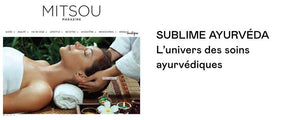 mitsou magazine, soins ayurvediques, beaute green beauty