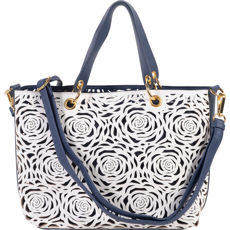 B U C O | Flower Bomb Shoulder/Crossbody Navy