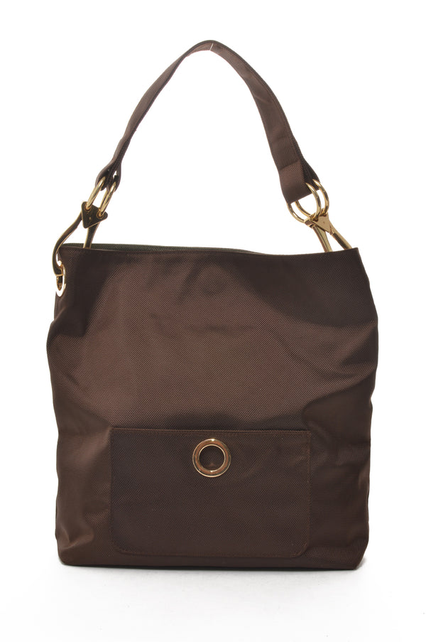Reversible Utility Tote Brown/Olive