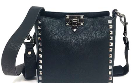 INZI | Studded Crossbody Black