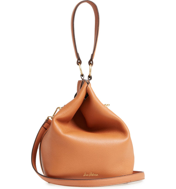 SAM EDELMAN | Renee Leather Bucket Bag Camel