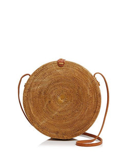 CIRCLE | Straw Crossbody