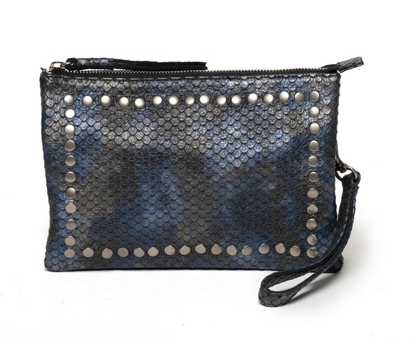 LAGGO | City Pouch Navy Snakeprint