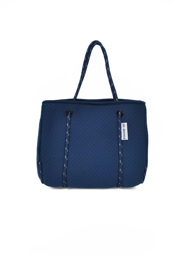 Ah-dorned | Neoprene Mini Tote Navy