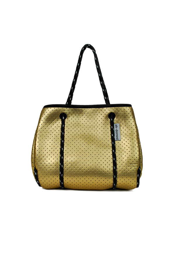 Ah-dorned | Neoprene Mini Tote Gold