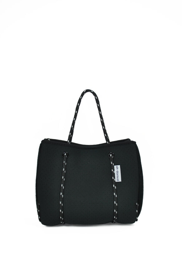 Ah-dorned | Neoprene Mini Tote Black