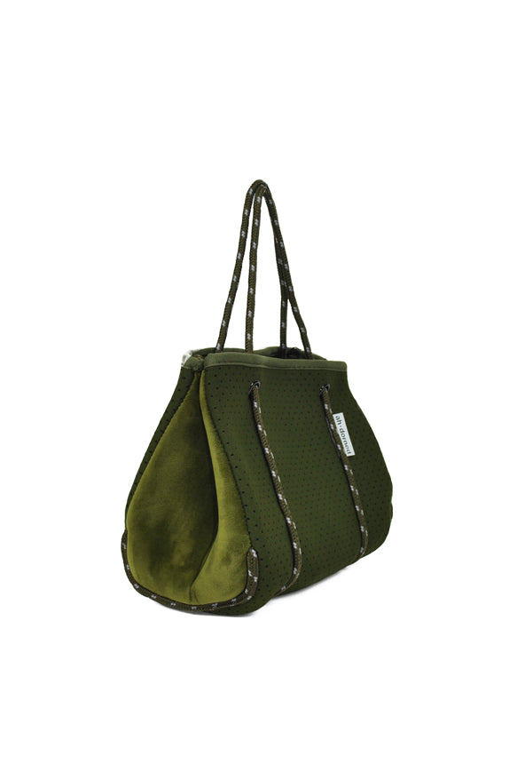 Ah-dorned | Neoprene Mini Tote Olive