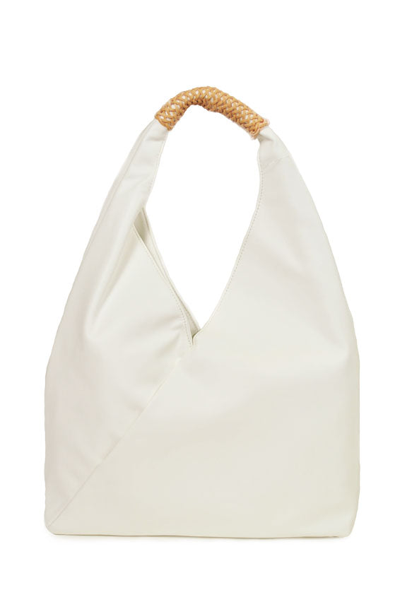 INZI | Shoulder Bag White