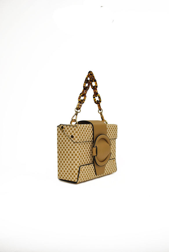 INZI | Straw Box Bag