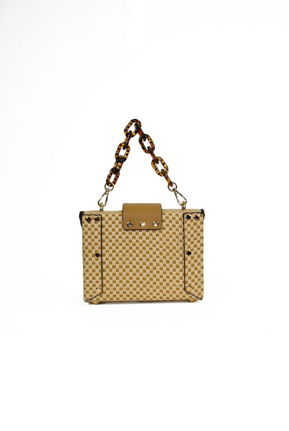 Straw Box Bag | INZI