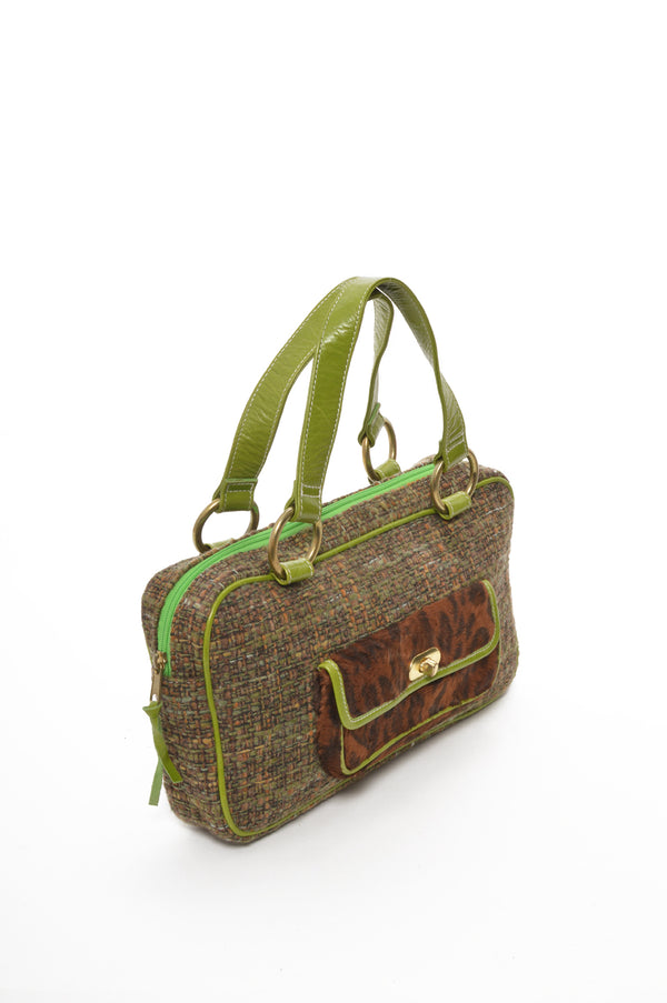 Retro | Tweed Satchel