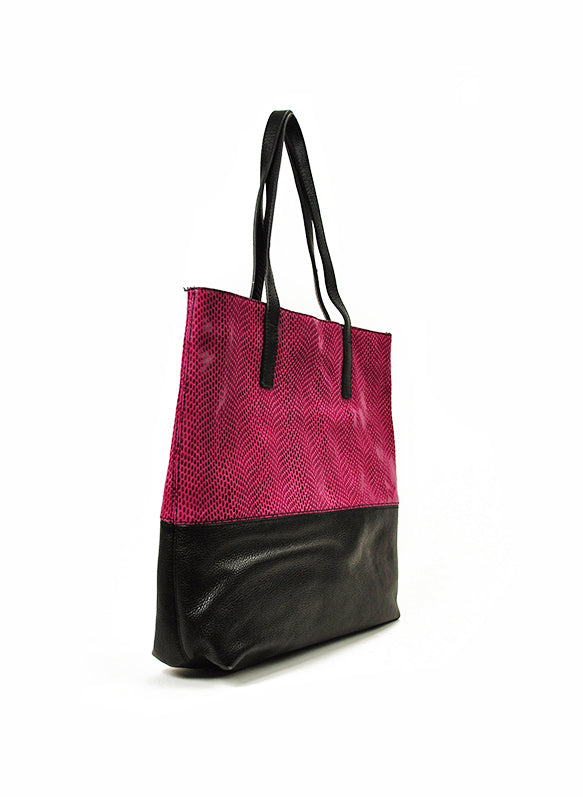JPK PARIS | Two Tone Leather Tote