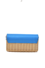 HAARLEY HARMONY | STRAW CROSSBODY CLUTCH