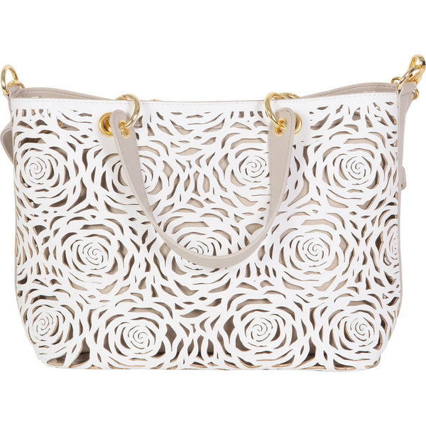 B U C O | Flower Bomb Shoulder/Crossbody Tan