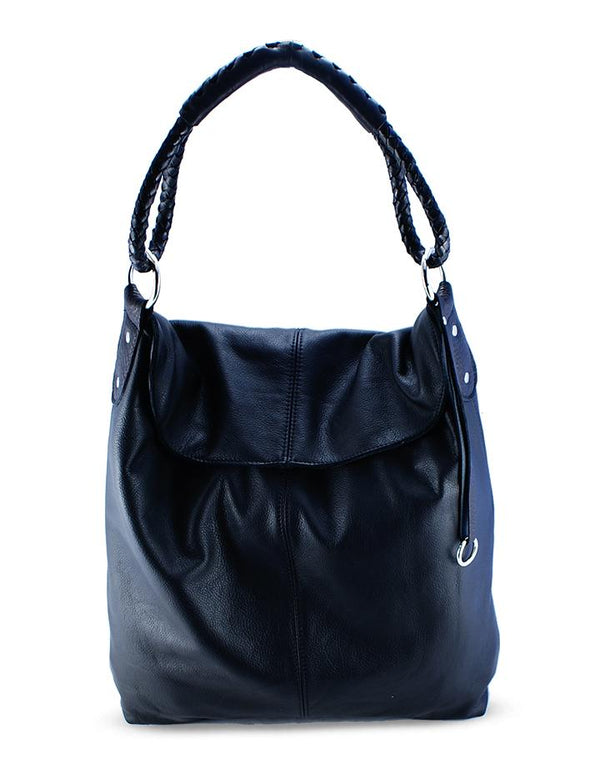 HL LEATHER | Hobo Black