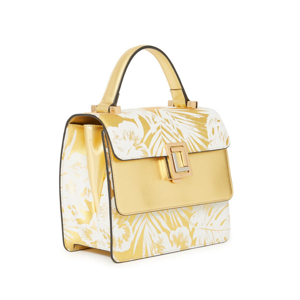 Maria Satchel | Gold Palm