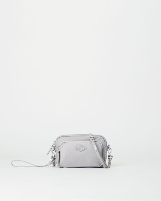 MZ Wallace |  Mini Gramercy Crossbody Fog
