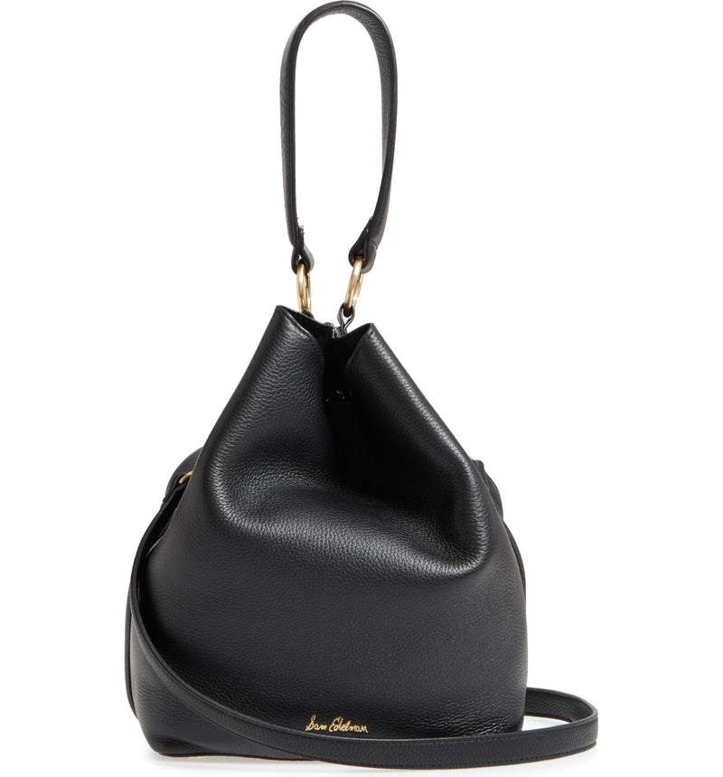 SAM EDELMAN | Renee Leather Bucket Black