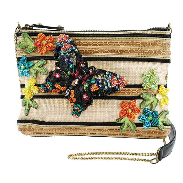 Mary Frances | 3D Butterfly Mini Crossbody
