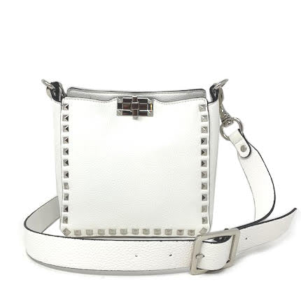 INZI | Studded Crossbody White