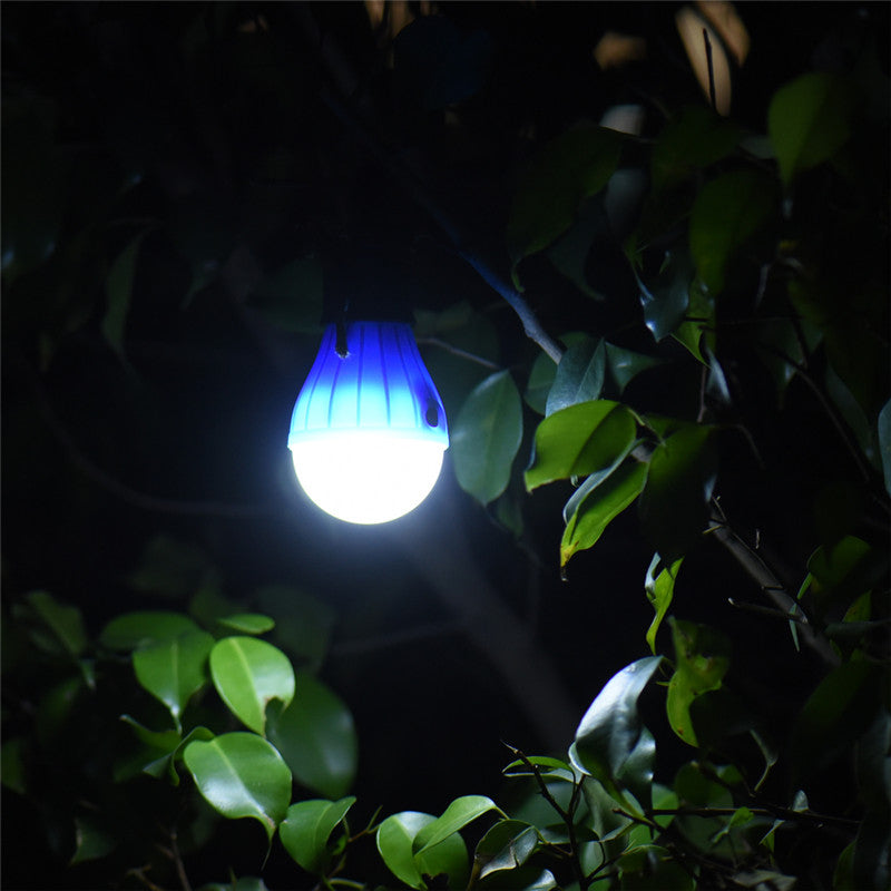 Lights & Lighting Portable Outdoor Hanging 3led Camping Lantern Soft Light Led Camp Lights Bulb Lamp For Camping Tent Fishing Aaa Battery