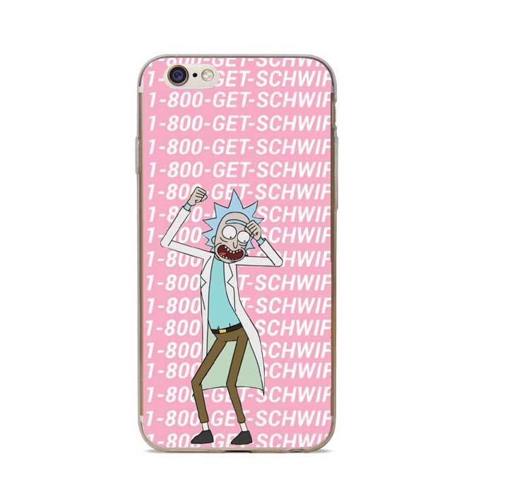 ... Rick And Morty Phone Case Cover For iPhone 7 Plus 6S 6 Plus 5S 5 SE ... 73a57383c15