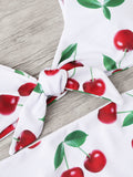 Brazilian Bikini Set Cherry Print