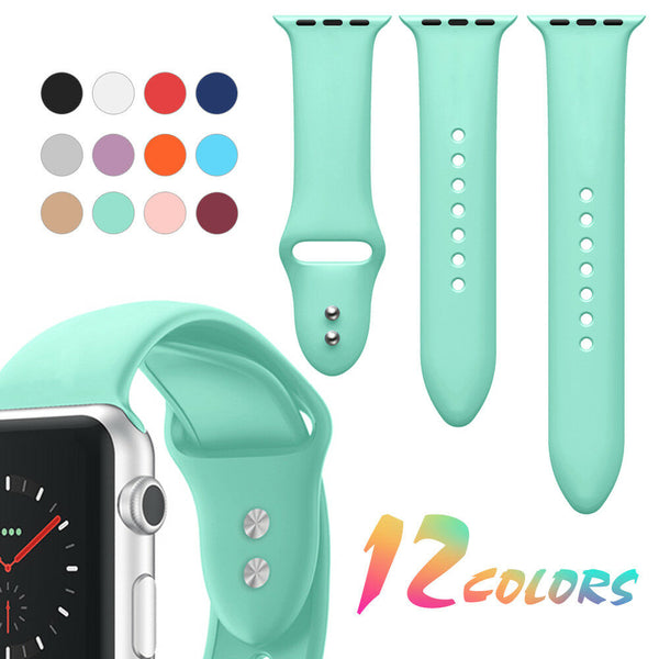 Sport Watch Band Strap for Apple Watch Series 5/4/3/2/1 3-Piece Pack - InfinityAccessories017