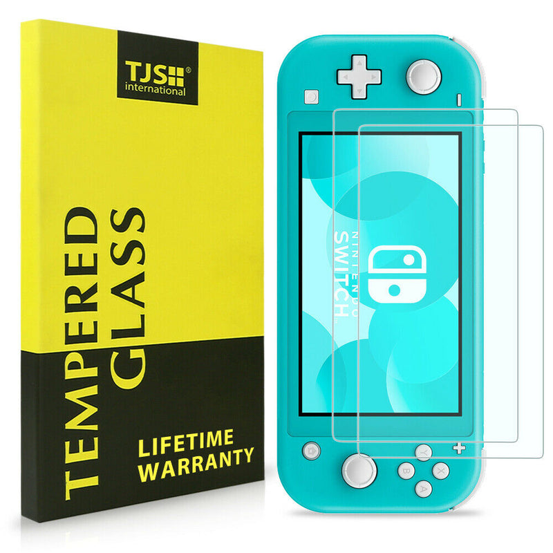 Tempered Glass Screen Protector Guard for Nintendo Switch Lite (2 Pack) - InfinityAccessories017