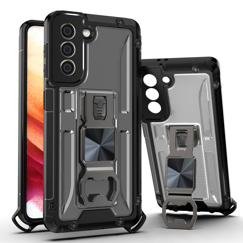 "TJS ""Opener"" Hybrid Phone Case for Samsung Galaxy S21 5G"