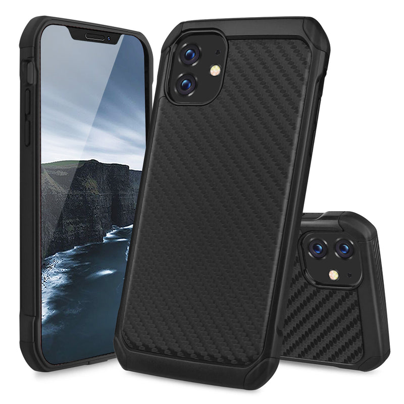 "TJS ""IMPACT"" Hybrid Phone Case for iPhone 11, iPhone 11 Pro, iPhone 11 Pro Max - InfinityAccessories017"