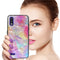 "TJS ""Minerva"" Glitter TPU Phone Case for LG K22, LG K22+, LG K32 - Rainbow"