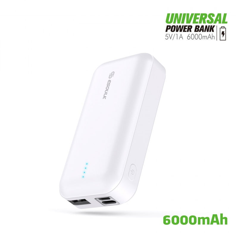ESOULK 6000 mAh Universal Power Bank