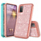 "TJS ""Sapphire"" Hybrid Glitter Phone Case for Samsung Galaxy A52 5G"